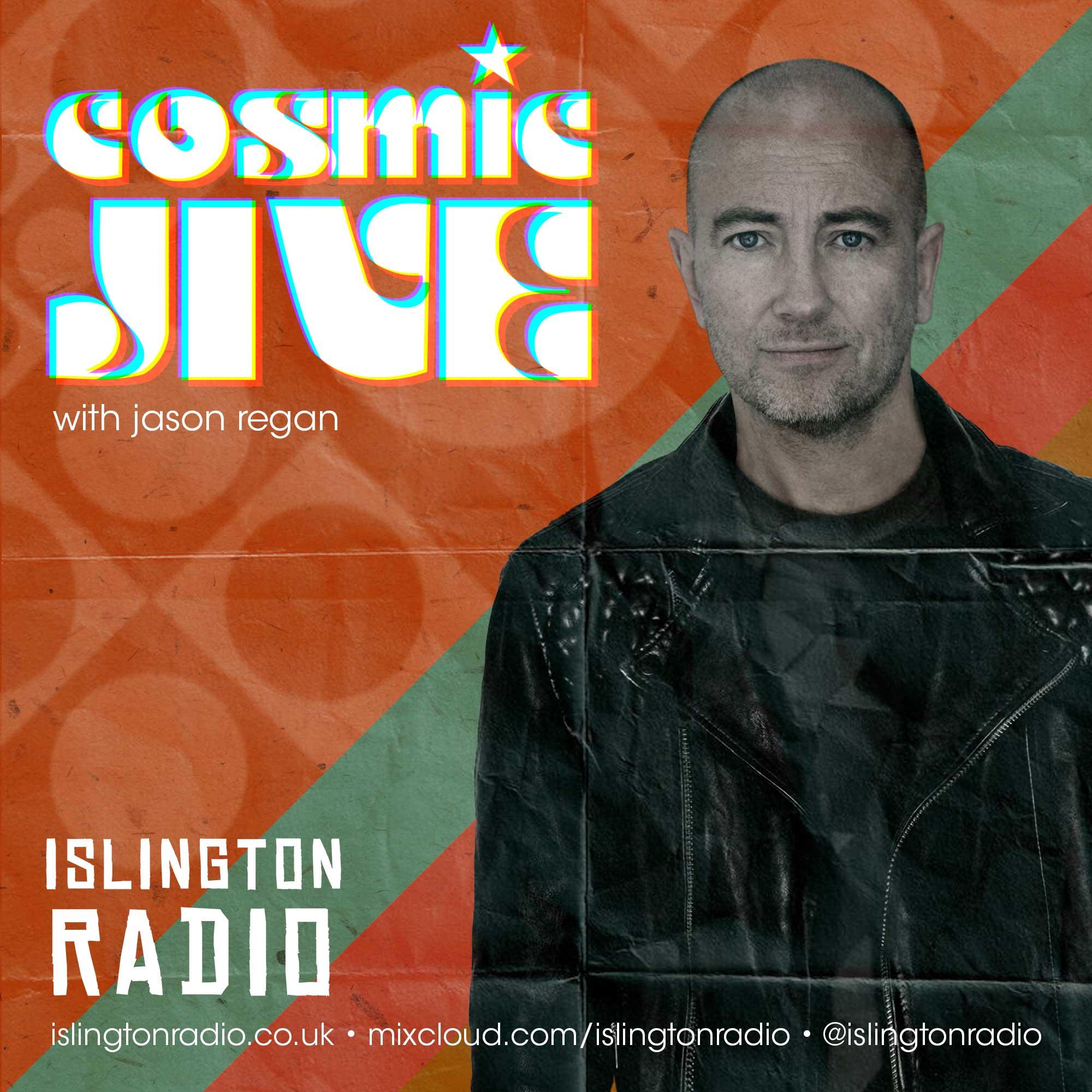 Cosmic Jive Show Jason Regan