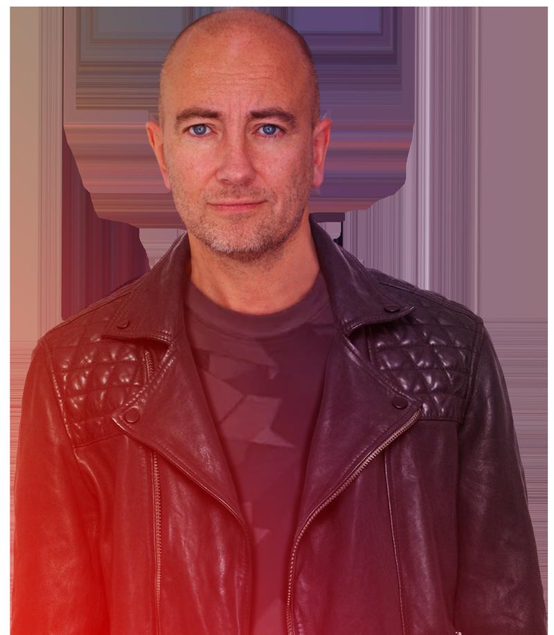 Senior creative, DJ and radio presenter Jason Regan